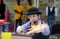 Wharton Park Opening Weekend Daring acts