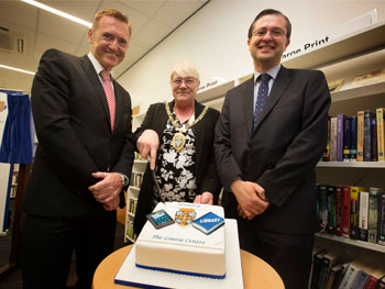 Opening of Louisa Centre Customer Access Point and Library