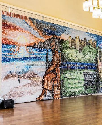 Durham message wall