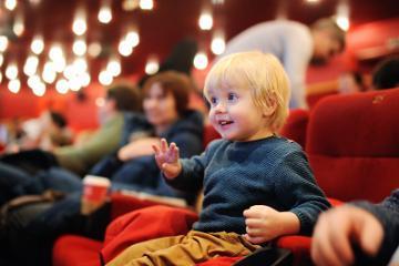 Child at theatre