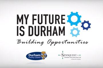My Future is Durham - building opportunities