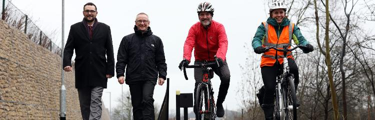 Cycling and walking plan gets into gear