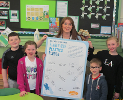 St Bede's RC Primary School, Sacriston sign the pledge March 2019