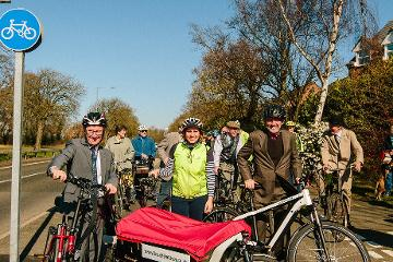 Cycle path renovations complete