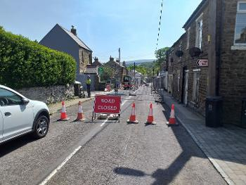Wearhead road closure