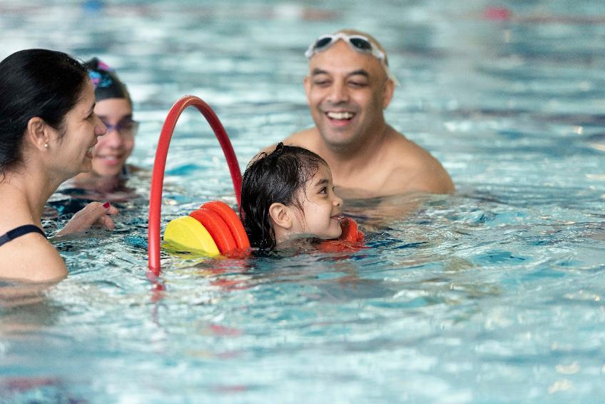 Disney Inspired Family Swim Session
