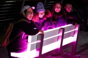 Lumiere light bench