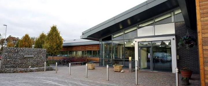 Aycliffe Secure Centre from the outside