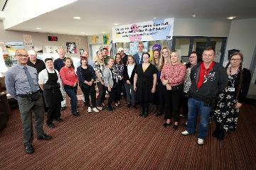 Staff at Aycliffe Secure Centre