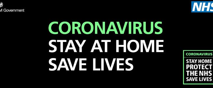 Stay at home, save lives - mobile version