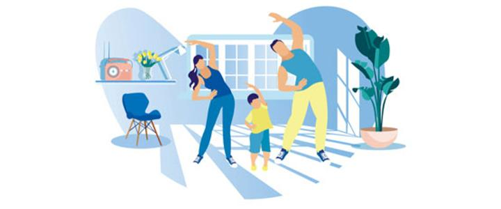 Keep active in your home