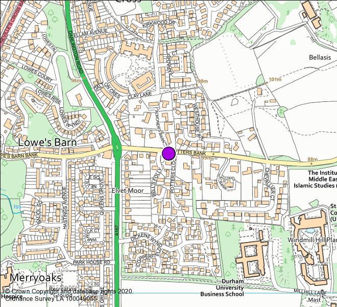 Potter's Bank camera location map