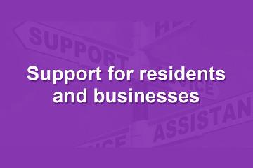 Support for County Durham residents and businesses