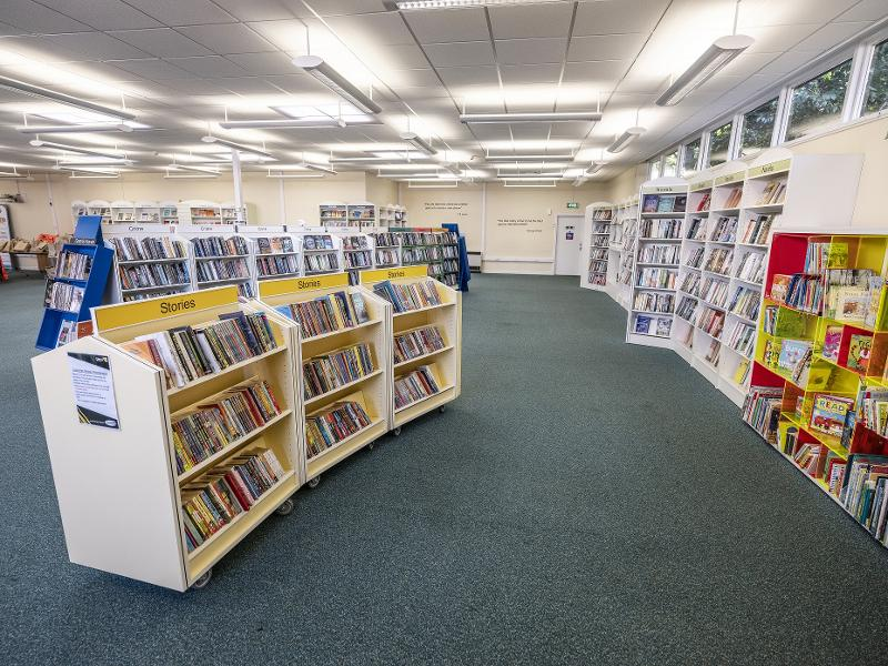 Library reopening