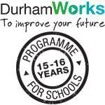 DurhamWorks programme for schools logo