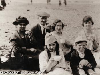 Bennett family at Horden