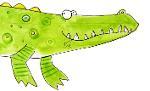 Featherbed Tales crocodile