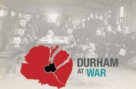 Durham at War logo